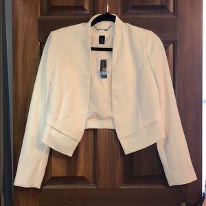 White House Black Market Cream colored Blazer